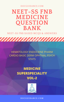 Medicine Superspecialities NEET-SS Question Bank VOL 2