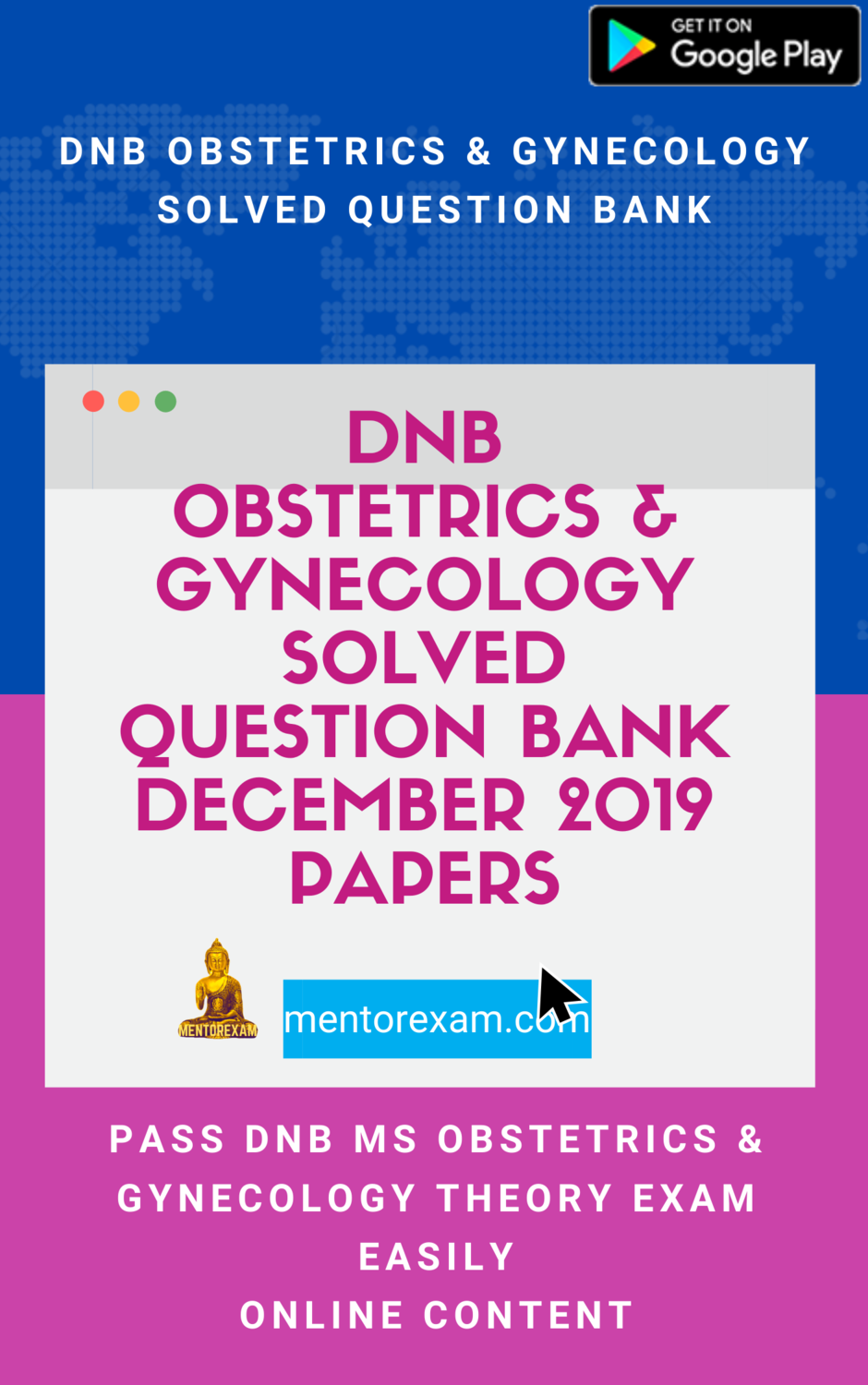 DNB Obstetrics & Gynecology Solved Question Bank December 2019 Papers online android