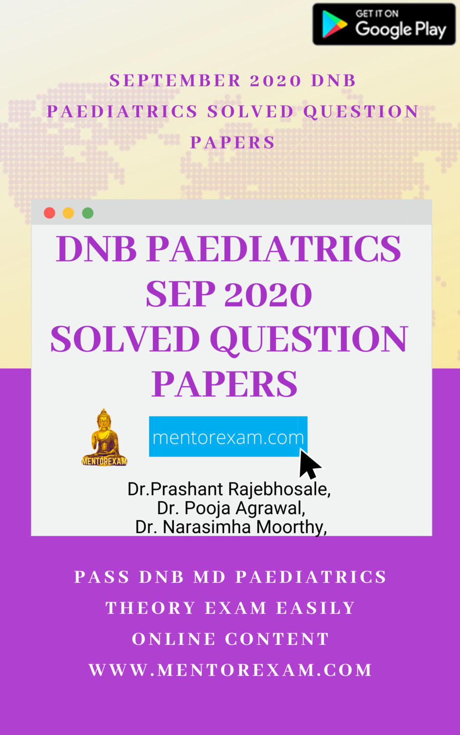 Pediatrics Sep 2020 DNB Solved Question Papers - Android App