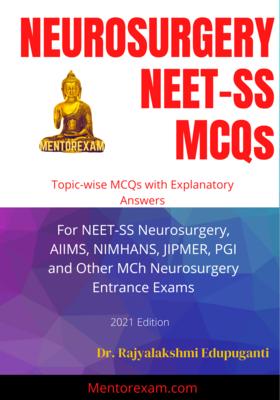 Neurosurgery NEET-SS Mcqs Book