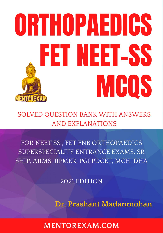Orthopaedics NEET-SS Mcqs Paperback Book