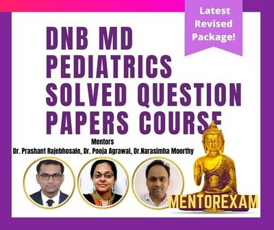 Dnb Paediatrics solved question bank - Android app only