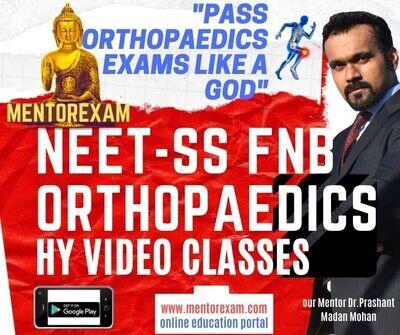NEET-SS FNB Orthopaedics High yield Video Classes