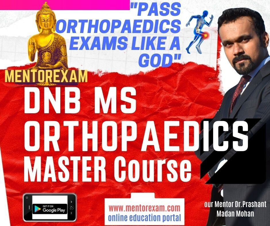 Orthopaedic Master Classes Theory & Practical DNB MS by Dr.Leander