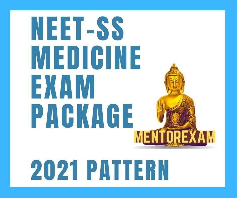 NEET-SS Medicine Exam Package 2021 Pattern