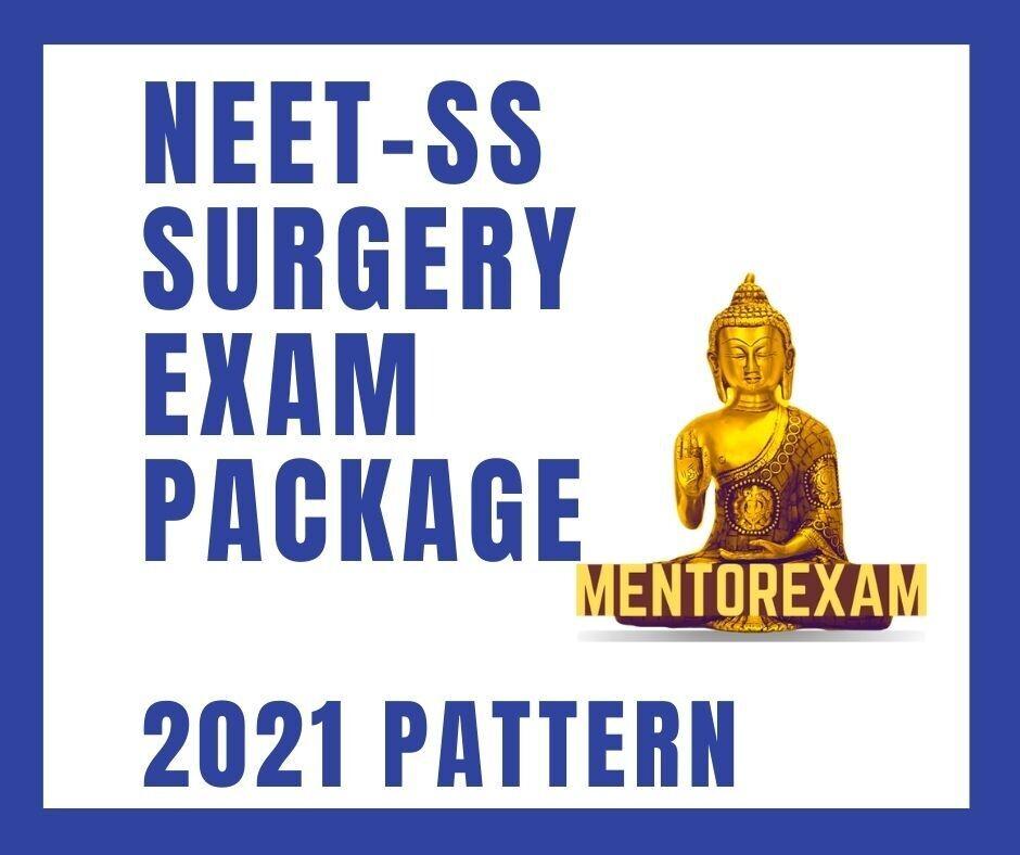 NEET-SS Surgery Exam Package 2021 Pattern