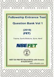 FNB NEET SS Orthopaedics Spine Trauma Sports Medicine hand Questionbank 1