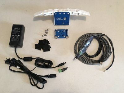 EZGripper Gen2 Dual Robotic Gripper - Mount - Cables - Power Supply