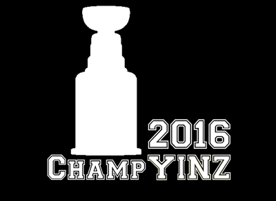 2016 Stanley Cup ChampYINZ Decal