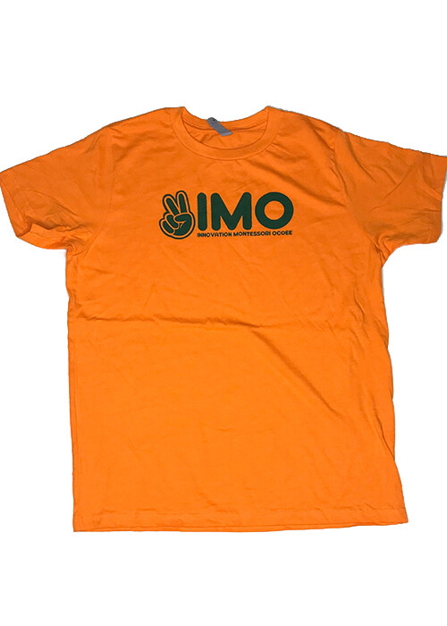 Orange Peace Hand T-Shirt
