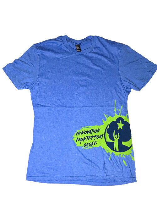 Light Blue IMO Splash T-Shirt