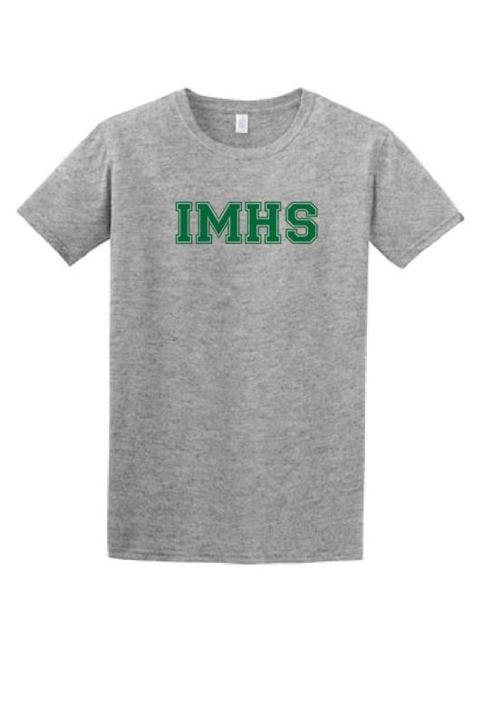 IMHS Gray Block Shirt (Blank)