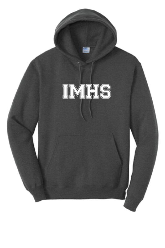 IMHS Charcoal Block Hoodie (Blank)