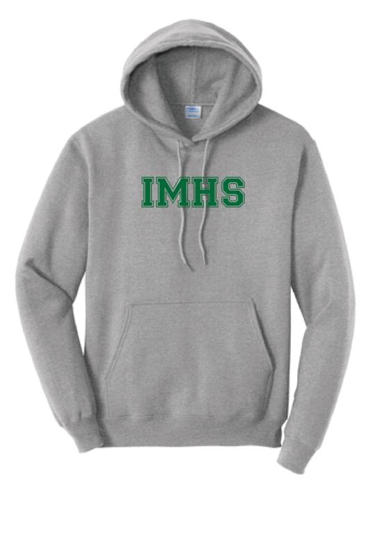 IMHS Gray Block Hoodie (Blank)