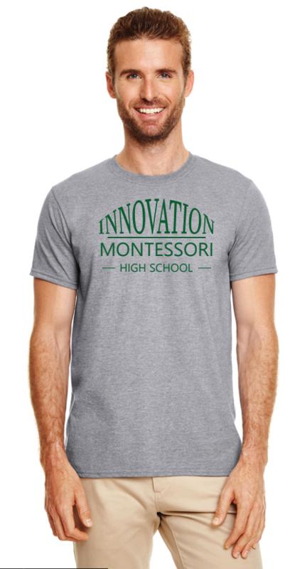 IMHS Gray Arc Shirt