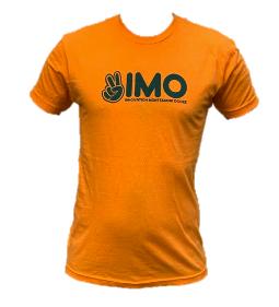 Orange Peace Hand Unisex T-Shirt