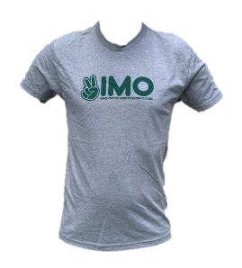 Gray Peace Hand Unisex T-Shirt