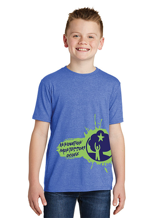 Dark Blue IMO Splash T-Shirt