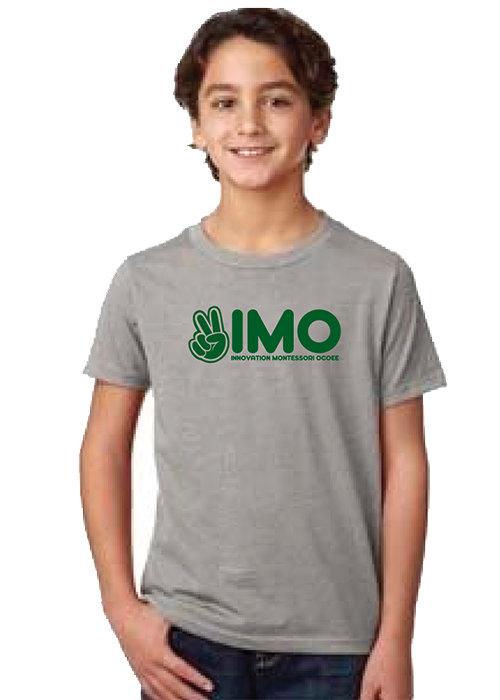 Gray Peace Hand T-Shirt