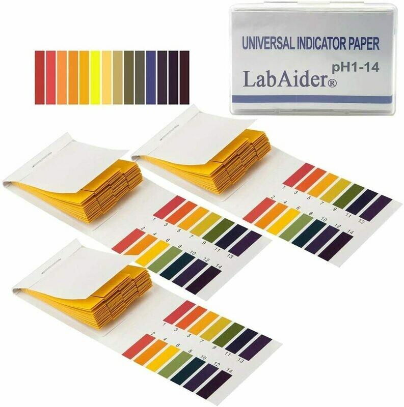 pH Test Strips (ph 1-14)
