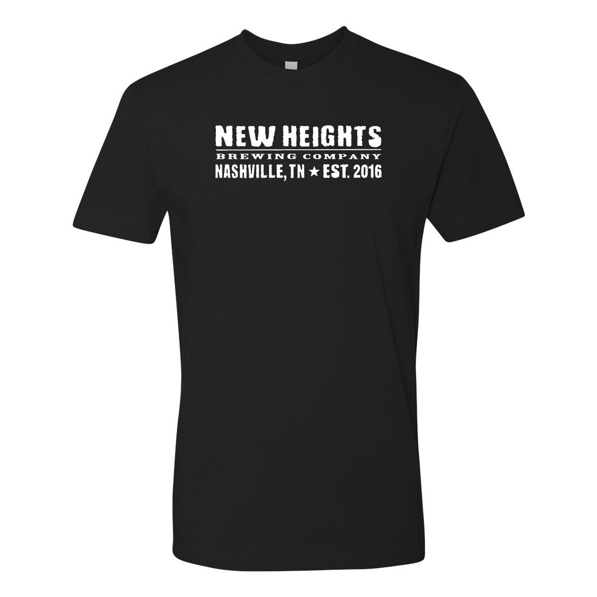 Next Level - NHB Logo T In Black
