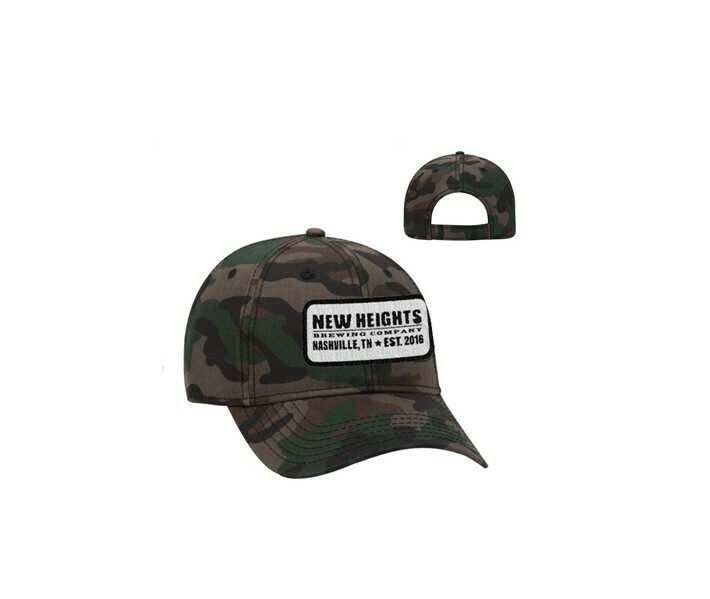 Camo Cap with Patch