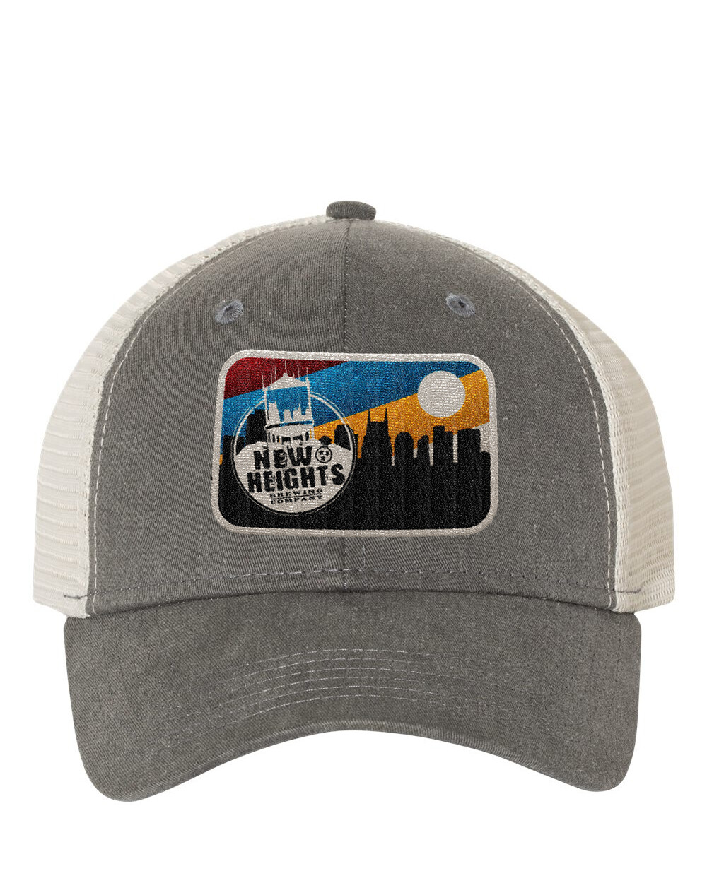 Trucker Cap/Mesh Back with New Heights Skyline Patch