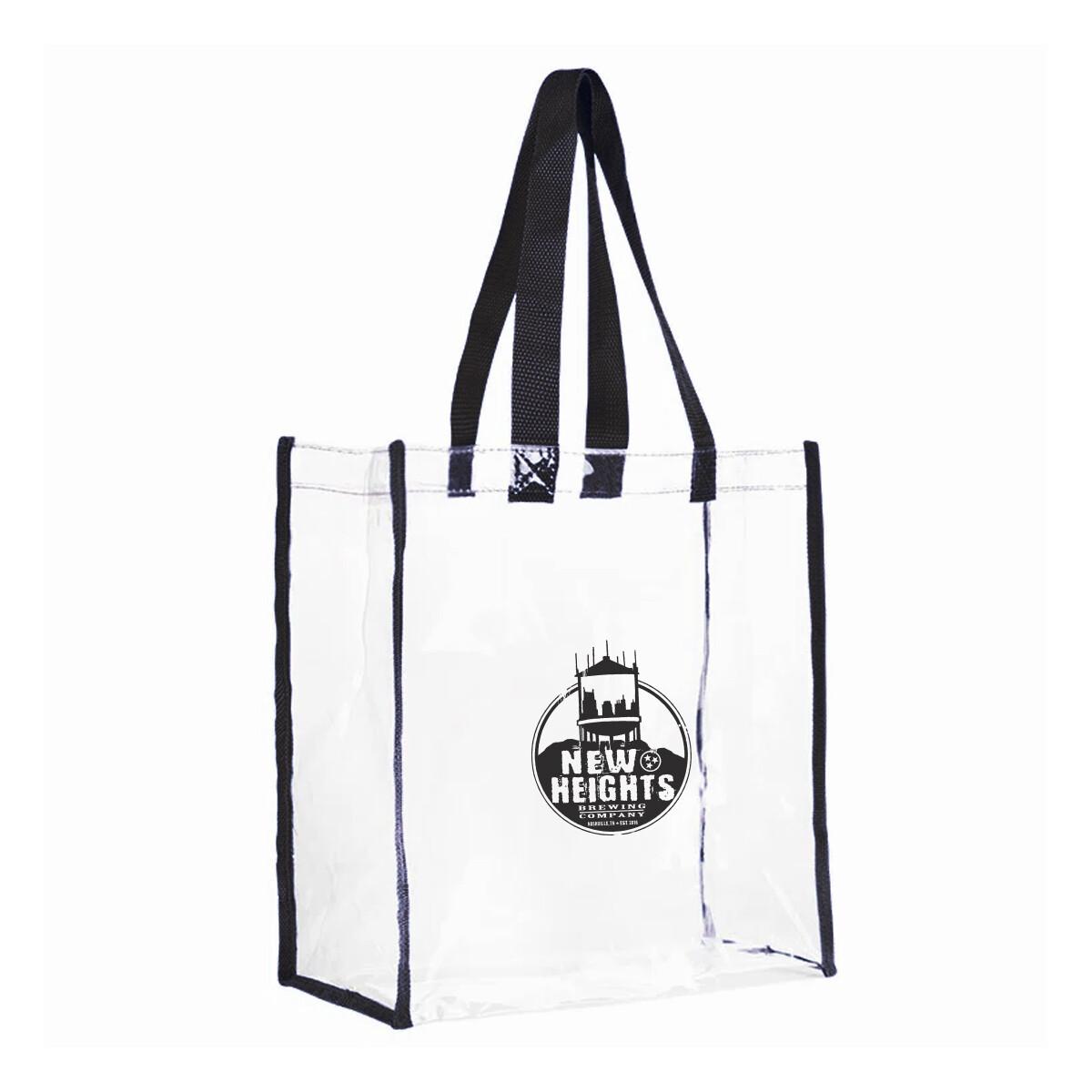 Clear Vinyl Security Bag (Stadium Certified)