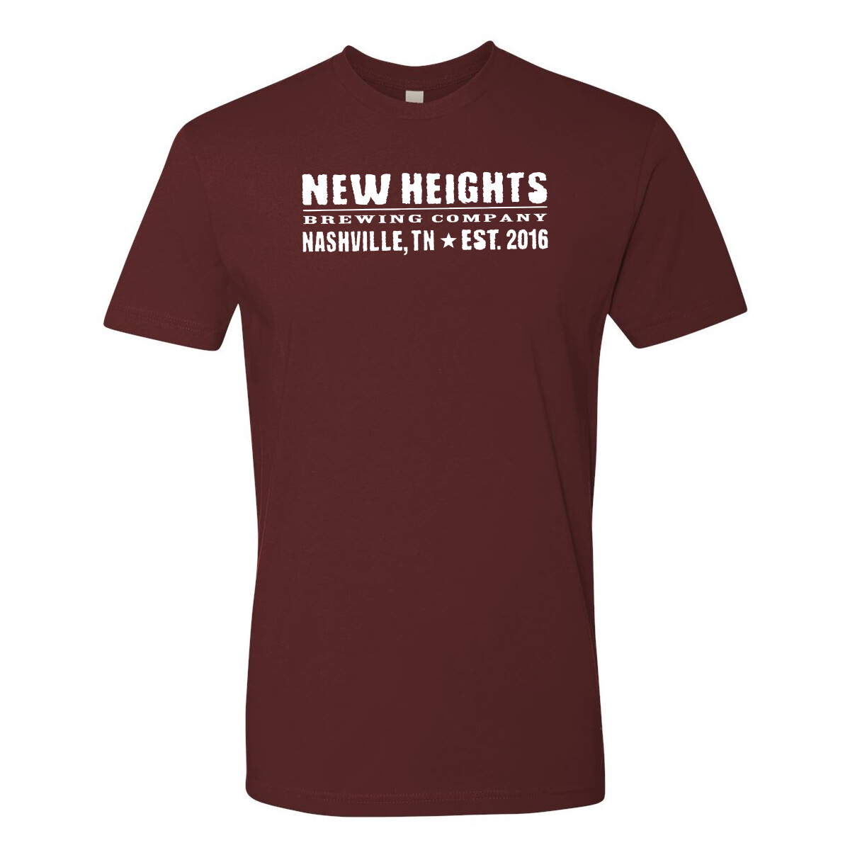 New Heights Brewing Logo Tees