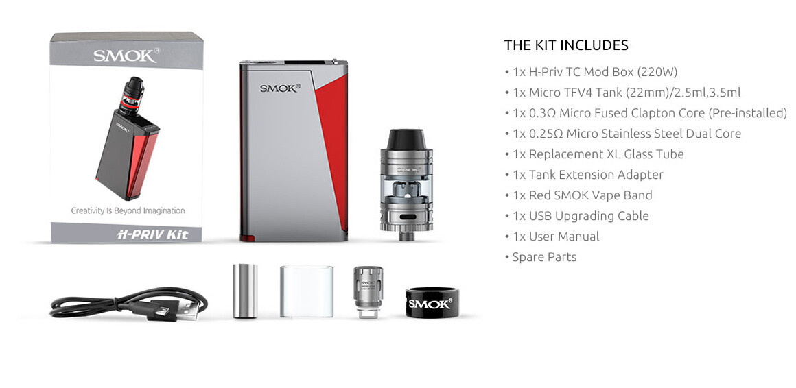 SMOK H-PRIV Kit