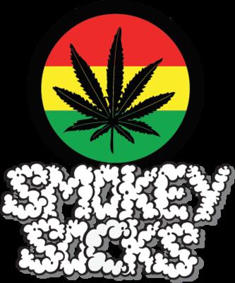 Smokey Socks Dab All Stars Grey