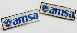 AMSA Logo Lapel Pin