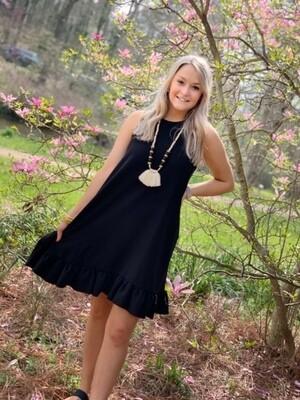 Mellie Swing Dress Black