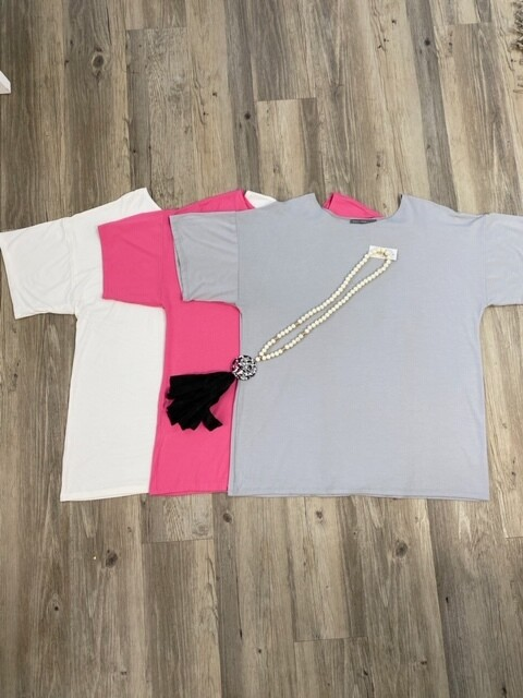 Emmas Cl. Summer Bamboo Boxy Shirt