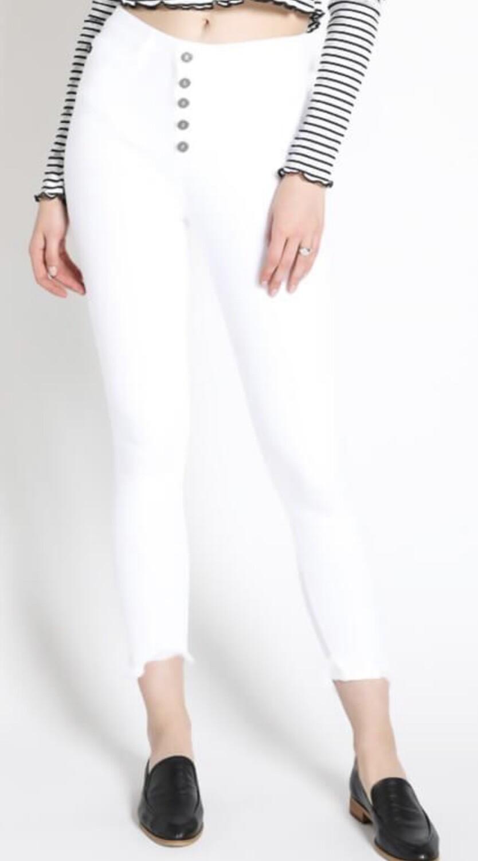 KC White B. Super HiRise Skinny Jean
