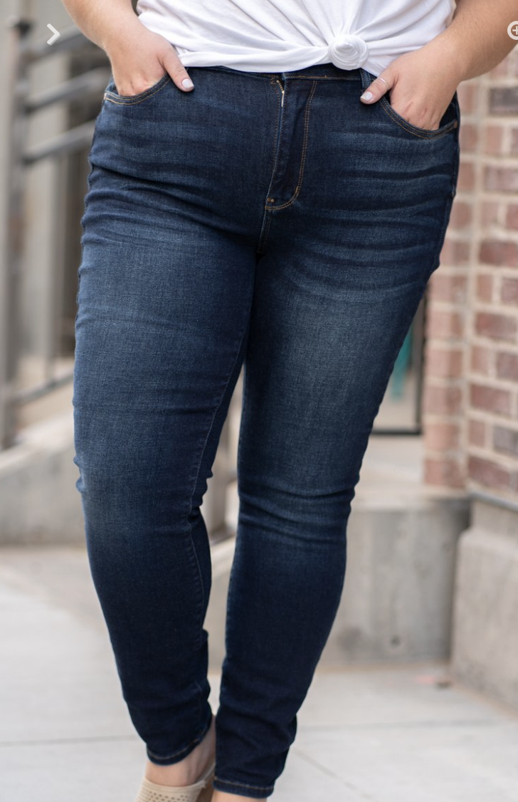 JB Rayon Skinny Plus Size Jeans
