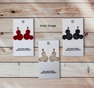 Clay Mickey Small Earrings