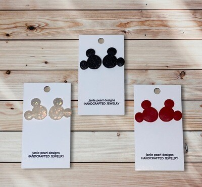 Clay Mickey Small Earrings