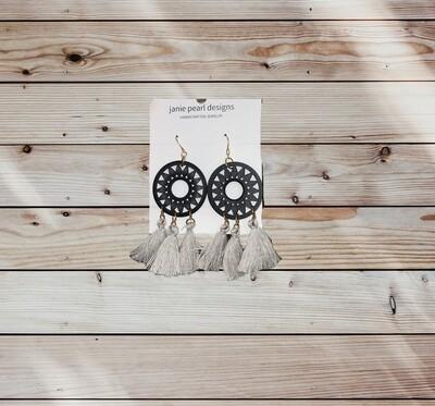 Clay Large Earrings