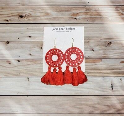 Clay Large Earrings