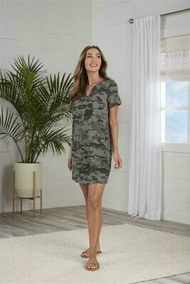 Cassidy Camo Dress