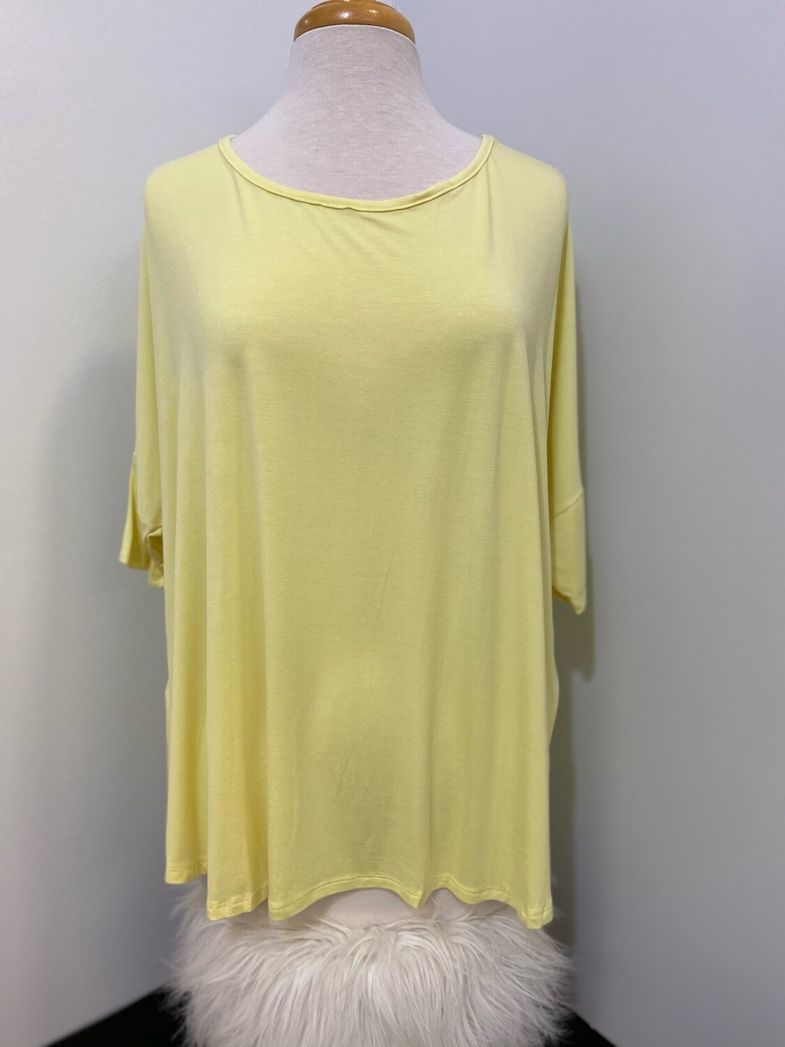 Yellow Bamboo Tunic