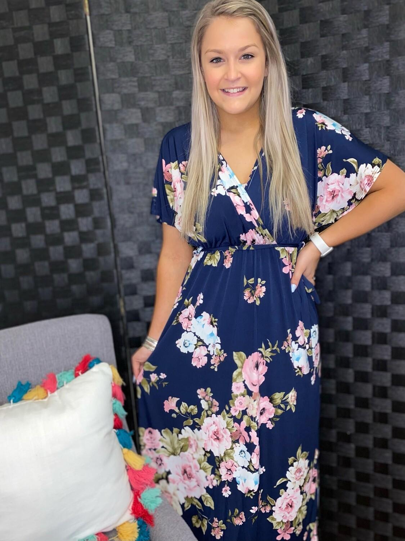 Selenes Kimono Maxi Dress