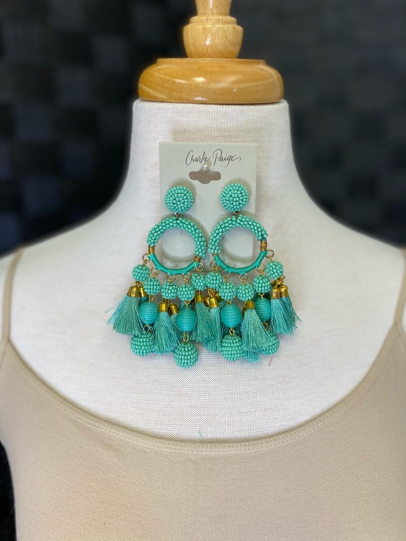 Earrings Gls/Visc