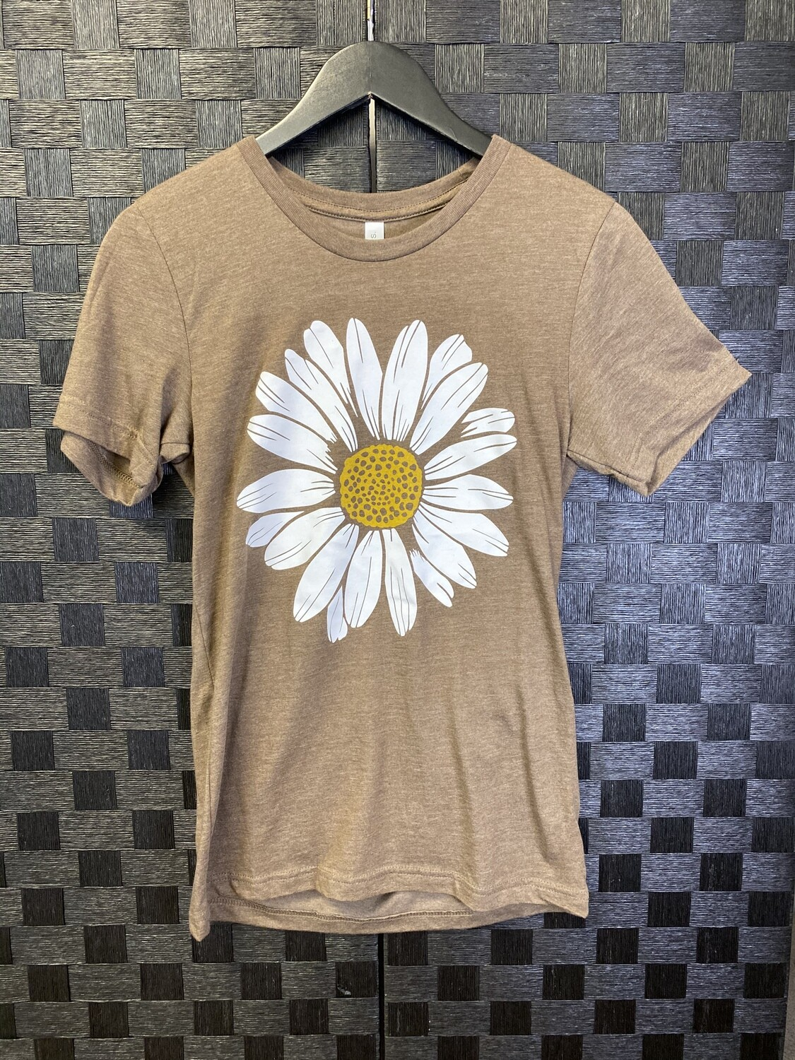 Brown Daisy Graphic Tee