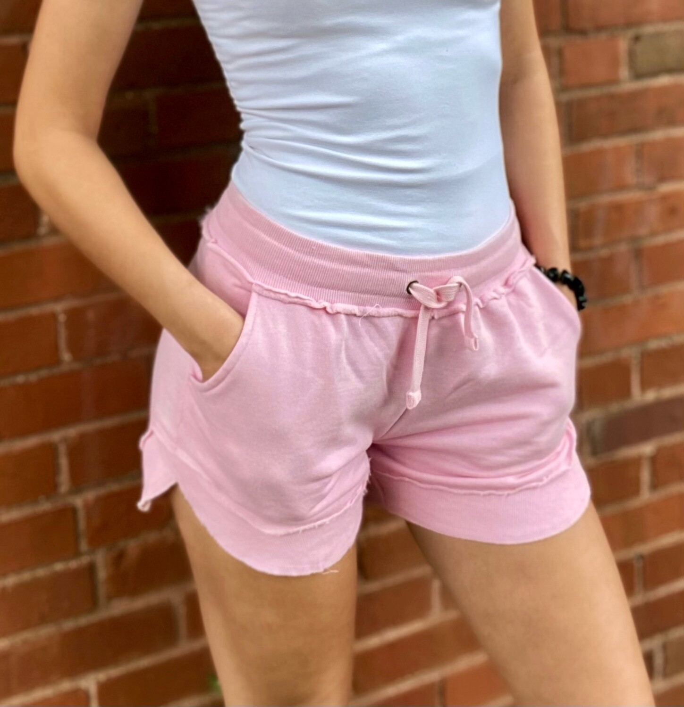 Pink Poncho Short