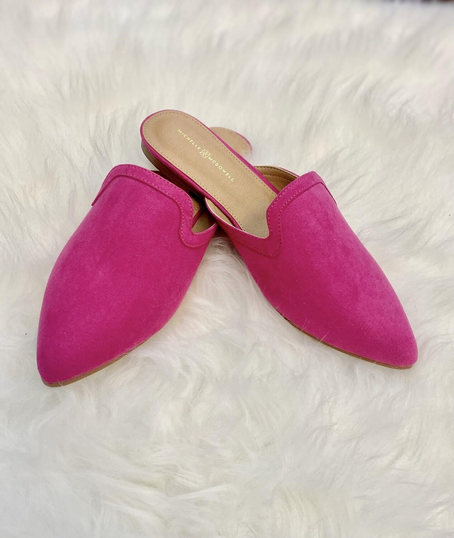 Leland Mules Pink