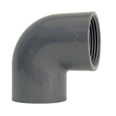 PVC Elbow 90º Threaded