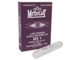 Borehole cable splice kit