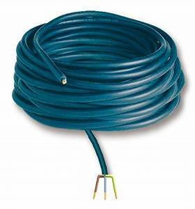 Borehole submersible cable